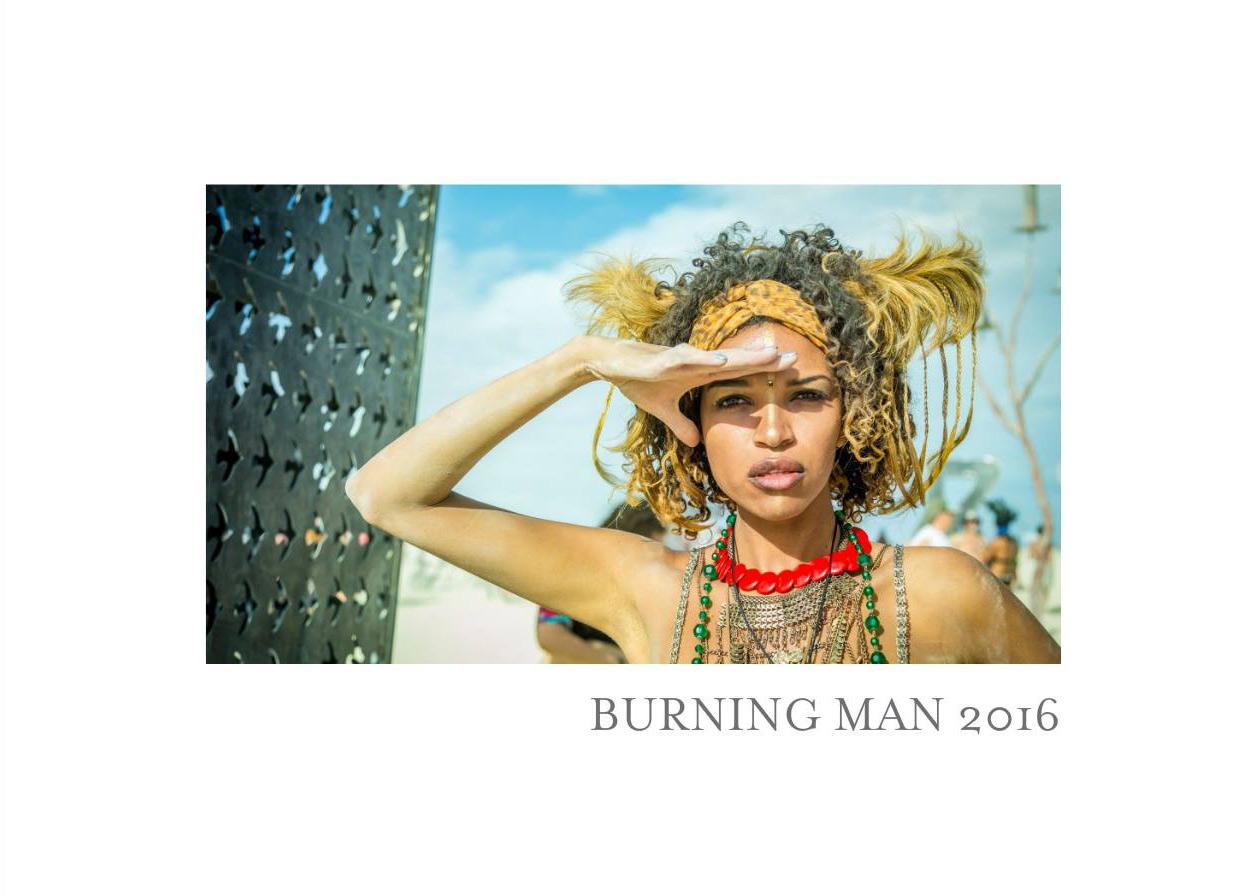 Burning Man Bok 2016