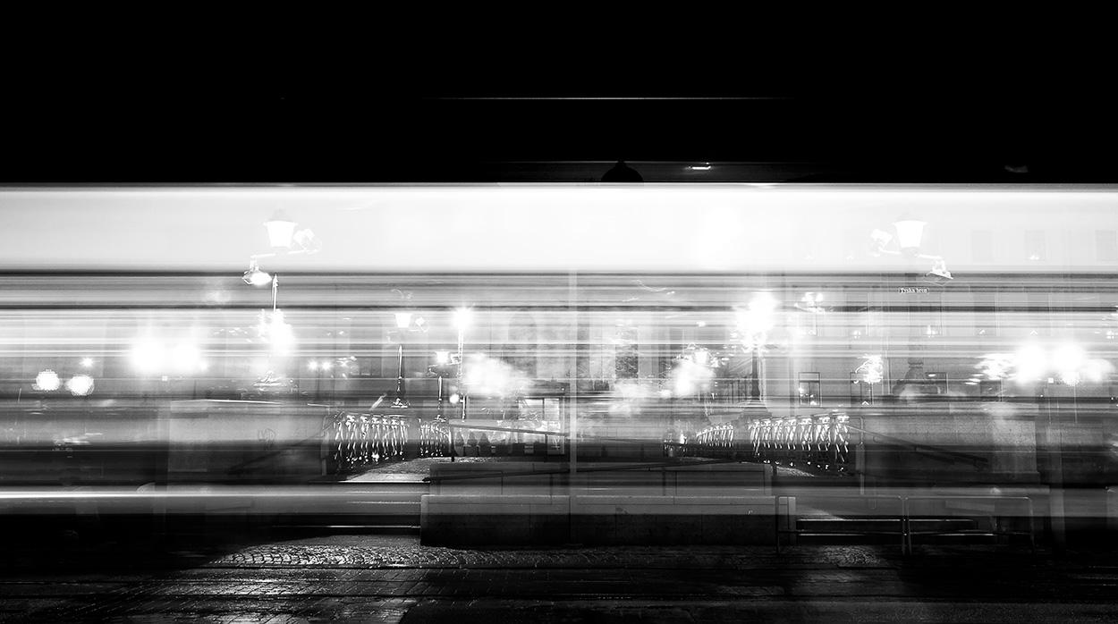 Tram Passing - Goteborg